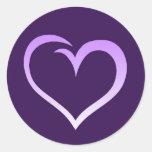 Purple Heart Logo Sticker