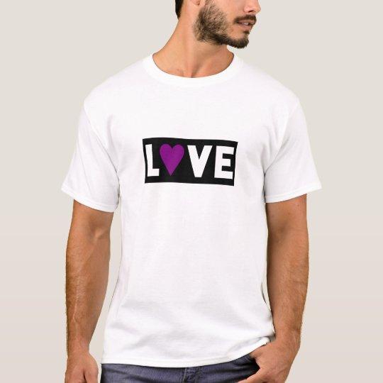 Purple Heart LOVE T-Shirt