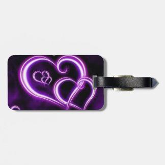 Purple Heart Luggage Tag