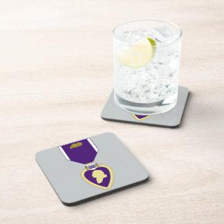 Purple Heart Medal - 3rd Award Coaster