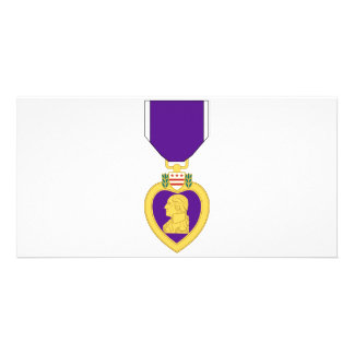 Purple Heart Medal Card