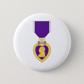 Purple Heart Medal Pinback Button