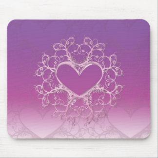 Purple Heart Mousepad
