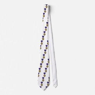Purple Heart Neck Tie