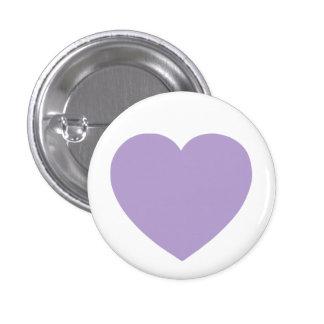Purple Heart Pin Redondo De 1 Pulgada