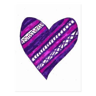 Purple Heart Postcard