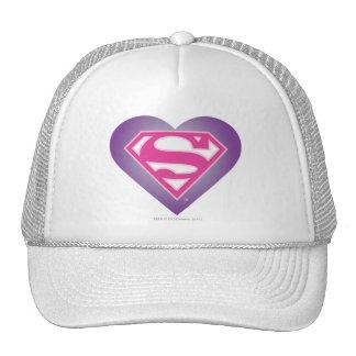 Purple Heart S-Shield Trucker Hat