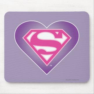 Purple Heart S-Shield Mouse Pad