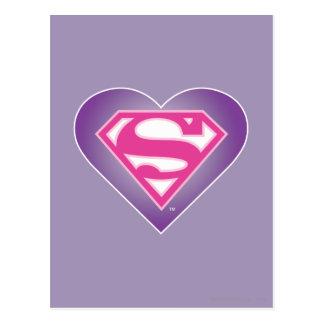 Purple Heart S-Shield Postcard