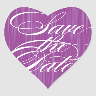 Purple Heart  |  Save the Date Envelope Seal