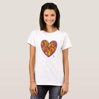 purple heart St Valentine T-Shirt