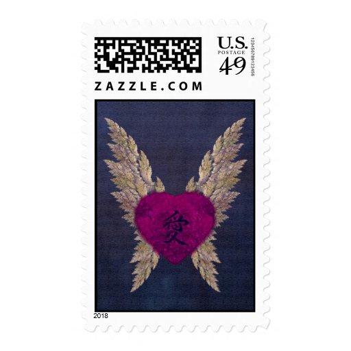 Purple Heart Stamp