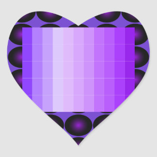 Purple Heart Sticker