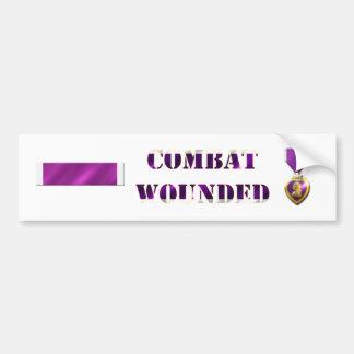 Purple Heart Sticker Set