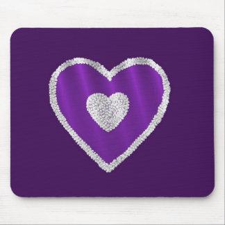 Purple Heart Tapete De Raton