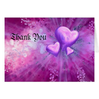 purple heart, Thank You Card