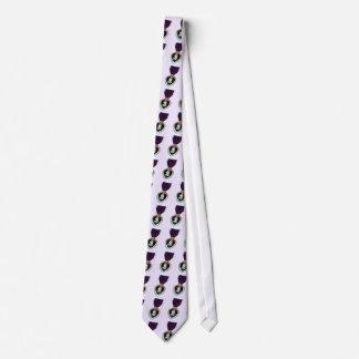 purple heart tie