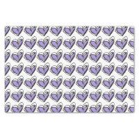 Purple Heart Tissue Paper — Trendy & Elegant