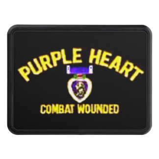 PURPLE HEART TOW HITCH COVER