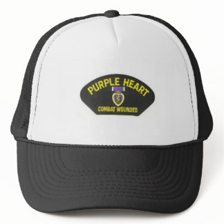 Purple Heart Trucker Hat