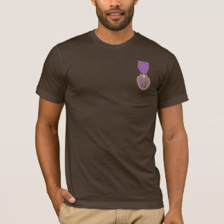 Purple Heart United States military Deco rat ion T-Shirt