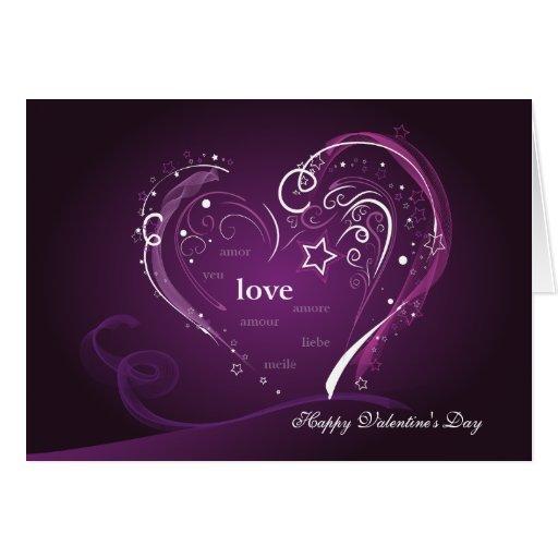 purple love valentine day - photo #7