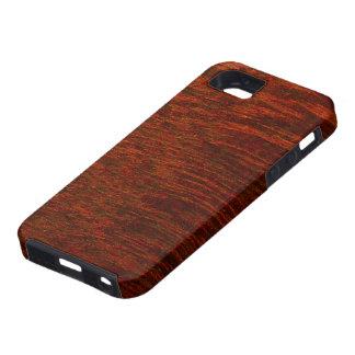 Purple Heart Wood Grain iPhone 5 Cases