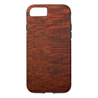 Purple Heart Wood Grain iPhone 7 Case
