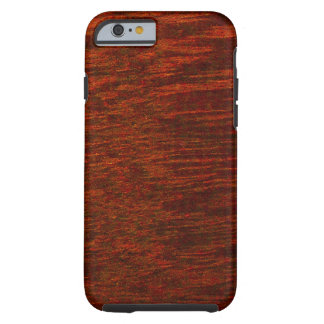 Purple Heart Wood Grain Tough iPhone 6 Case