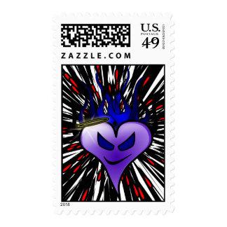Purple Heartburn Postage