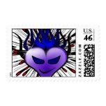 Purple Heartburn Stamp