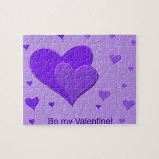 Purple Hearts Puzzle