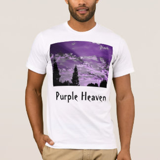 Purple Heaven. Artistic sunset tribute to Prince. T-Shirt