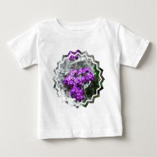 Purple Heliotrope Flowers Tee Shirts