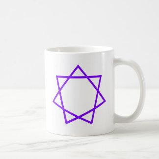 Purple Heptagram Coffee Mug
