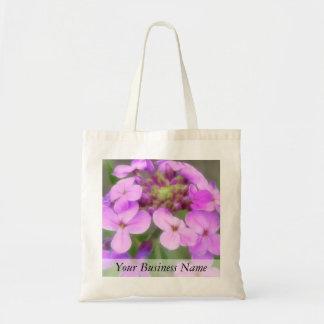 Purple Hesperis matronalis Flowers Tote Bag