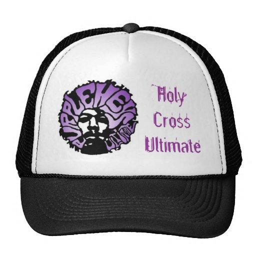 Purple Heys Trucker hat