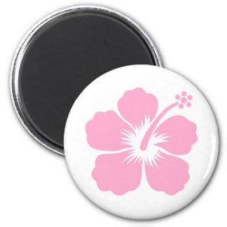 purple hibiscus aloha flower S Magnet