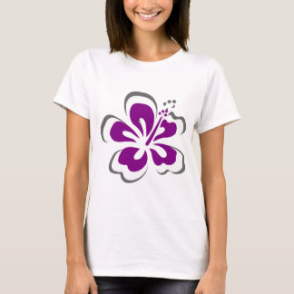 Purple hibiscus Hawaii theme gifts T-Shirt