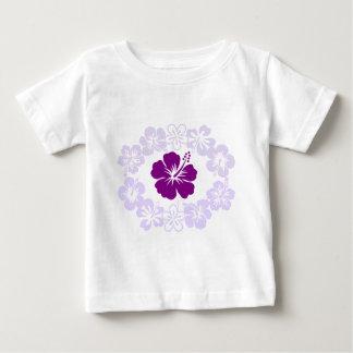 Purple Hibiscus Lei Baby T-Shirt