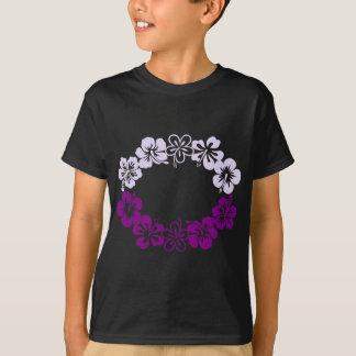 purple hibiscus lei garland T-Shirt
