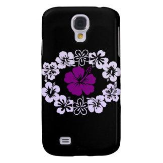 Purple Hibiscus Lei Samsung Galaxy S4 Covers