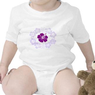 Purple Hibiscus Lei Tshirts