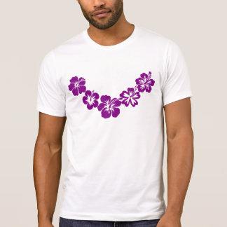 Purple hibiscus leis T-Shirt