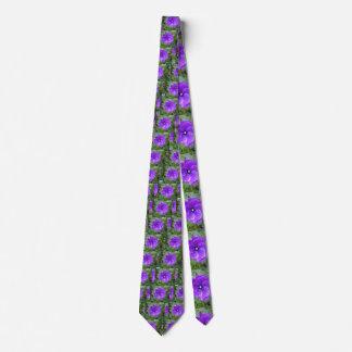 Purple_Hibiscus_Silk_Tie. Tie