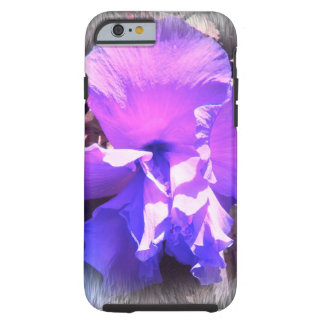 Purple Hibiscus Tough iPhone 6 Case