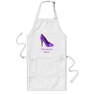Purple High Heel Shoe Apron