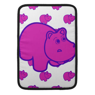 Purple Hippo Sleeves For MacBook Air