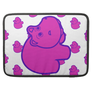 Purple Hippo Sleeves For MacBook Pro