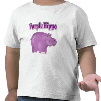 Purple Hippo Tshirt